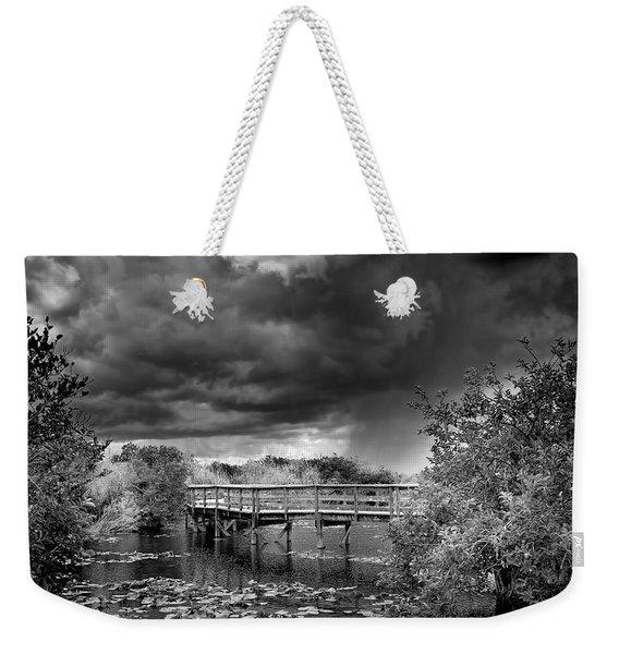 Everglades 0823bw Weekender Tote Bag