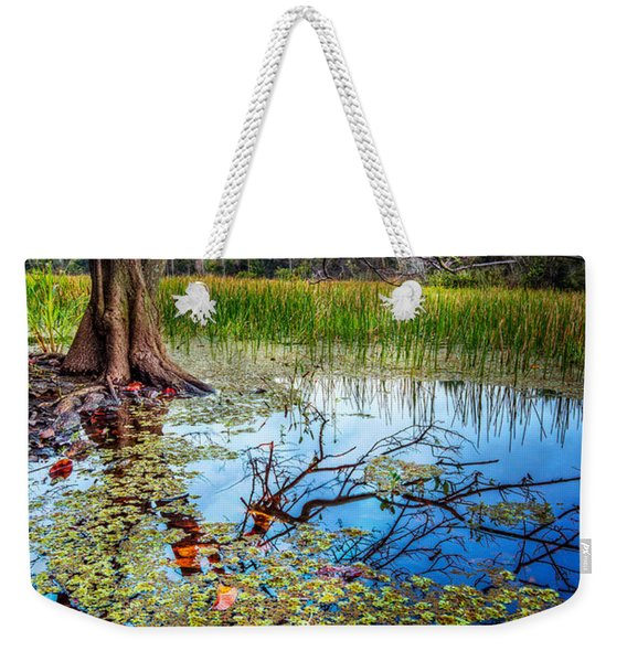 Everglades Reflections Weekender Tote Bag
