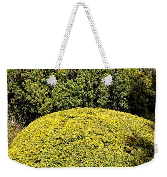 Evergreen Tops Weekender Tote Bag