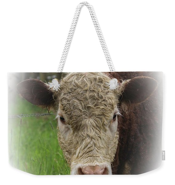 Everybody Loves A Cow Weekender Tote Bag