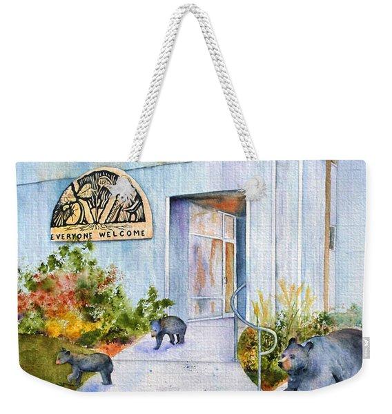 Everyone Welcome Weekender Tote Bag