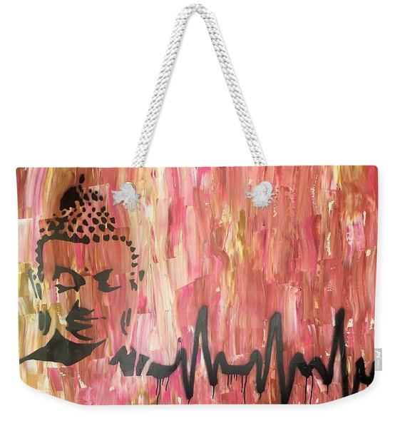 Everything Is Energy Weekender Tote Bag