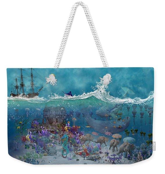 Everything Under The Sea Weekender Tote Bag