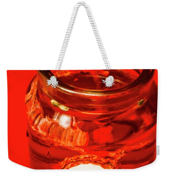 Everything You Know Is A Leye Weekender Tote Bag