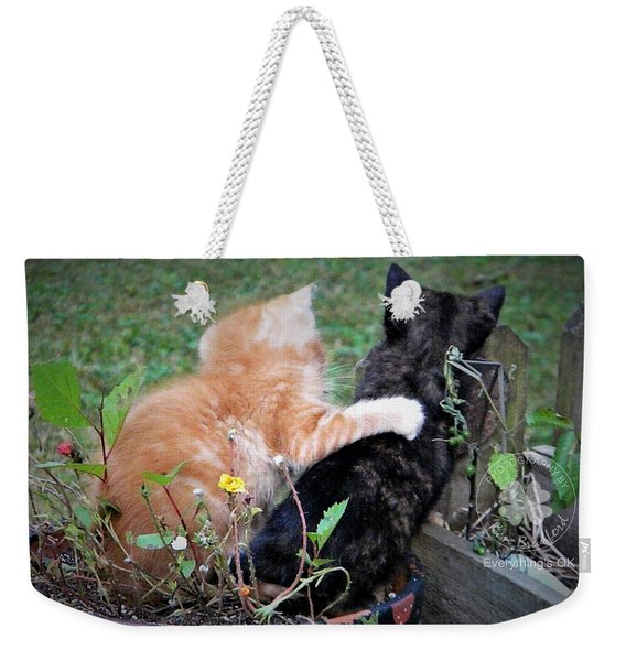 Everything's Ok Weekender Tote Bag
