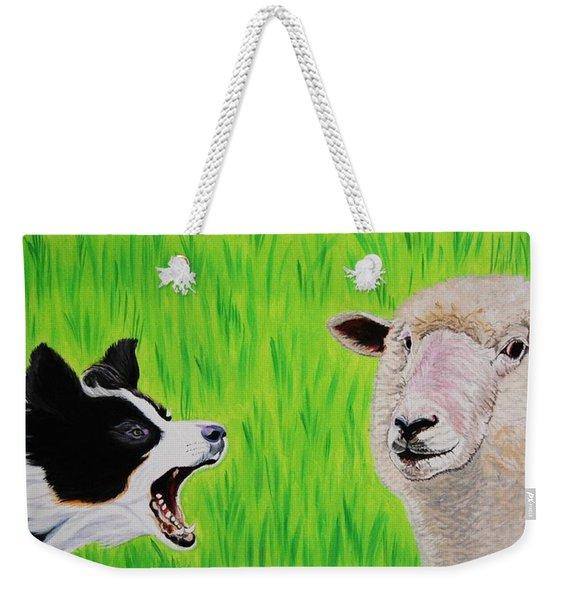 Ewe Talk'in To Me? Weekender Tote Bag