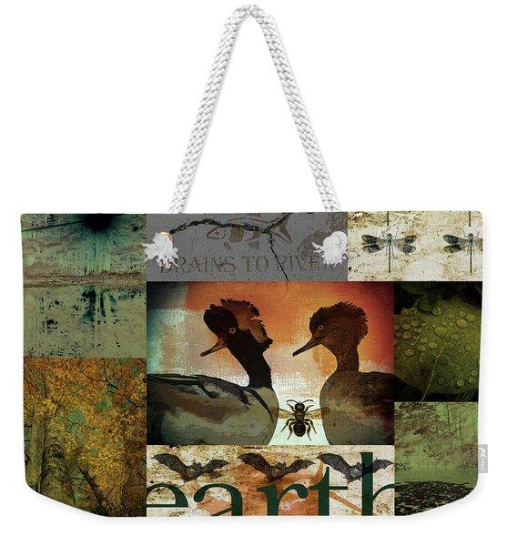 Exemplifies The Remarkable Breadth Weekender Tote Bag