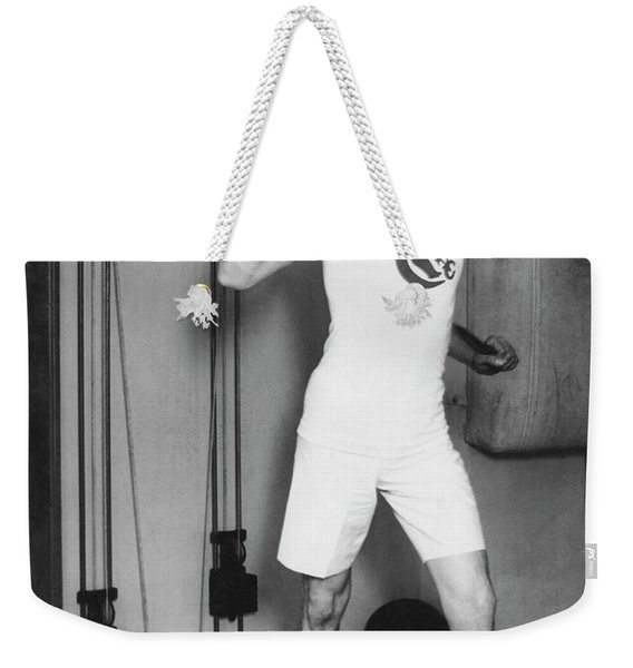 Exercising With Weights 2 Weekender Tote Bag