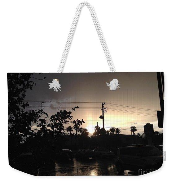 Exhale Weekender Tote Bag