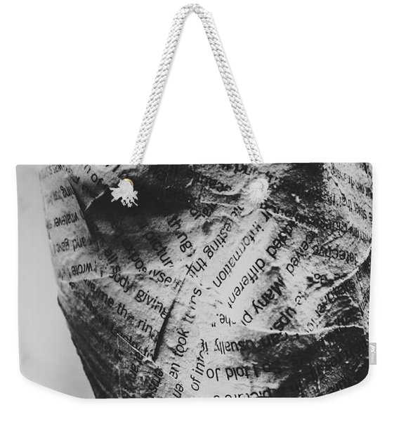 Exhumation Of Contextual Truth Weekender Tote Bag