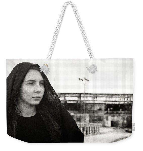 Exit Weekender Tote Bag