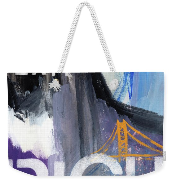 Exit Right- Art By Linda Woods Weekender Tote Bag
