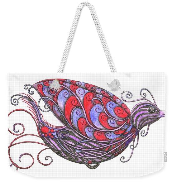 Exotic Bird V Weekender Tote Bag