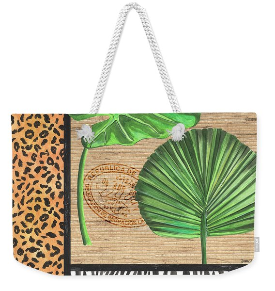 Exotic Palms 2 Weekender Tote Bag