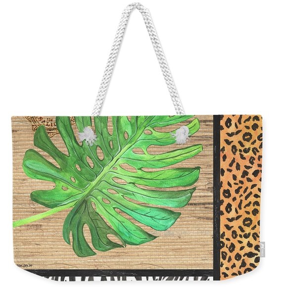 Exotic Palms 3 Weekender Tote Bag