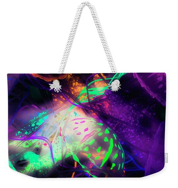 Exotic Rainbows Weekender Tote Bag