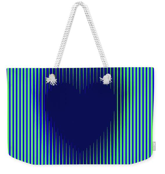 Expanding Heart 2 Weekender Tote Bag