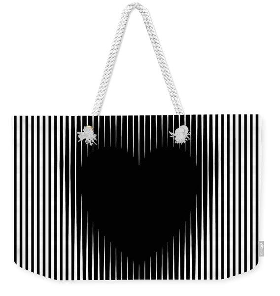 Expanding Heart Weekender Tote Bag