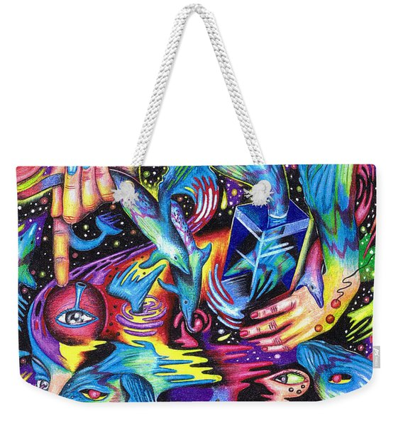 Expansive Dynamics Of The Subconscious Weekender Tote Bag