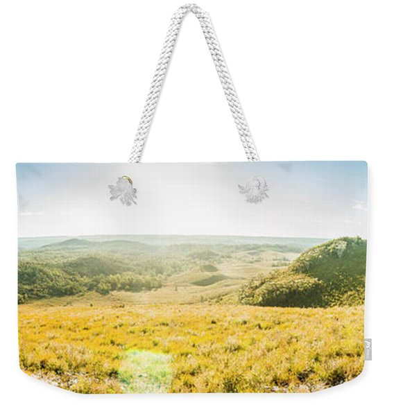 Expansive Open Plains Weekender Tote Bag