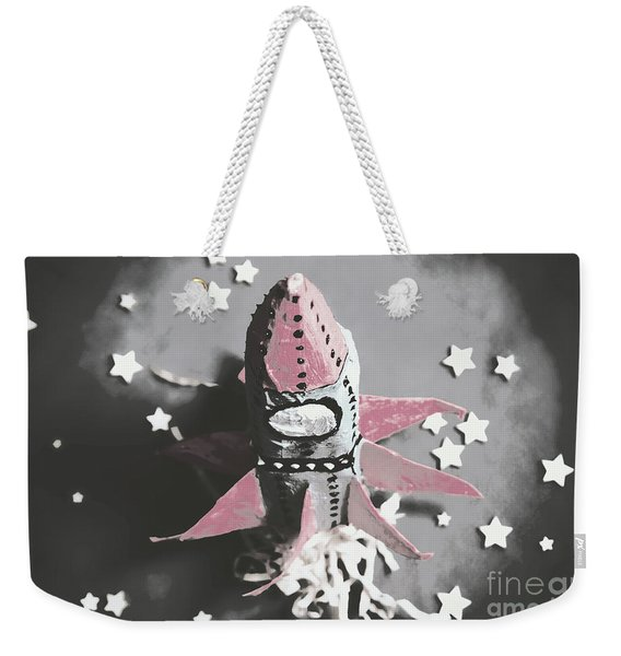 Exploration Into Outer Space  Weekender Tote Bag