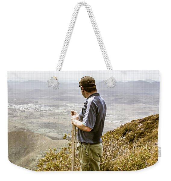 Explore Tasmania Weekender Tote Bag