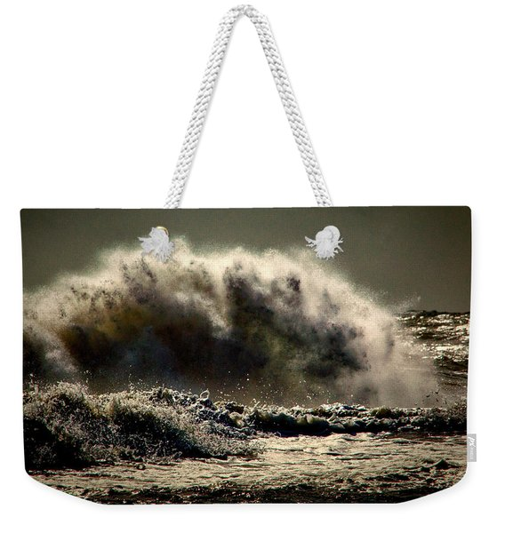 Explosion In The Ocean Weekender Tote Bag