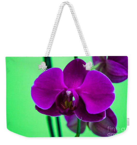 Exposed Orchid Weekender Tote Bag