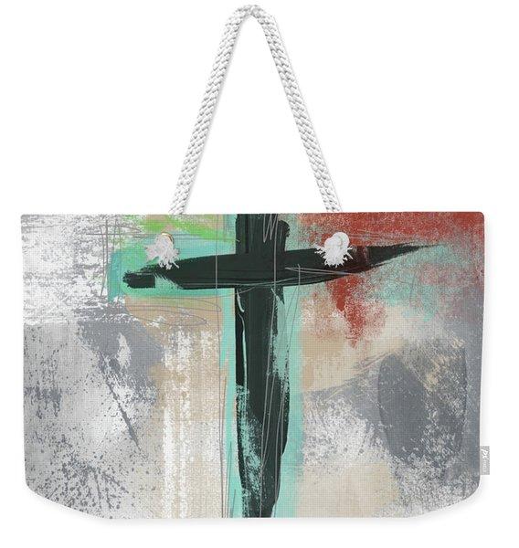 Expressionist Cross 3- Art By Linda Woods Weekender Tote Bag