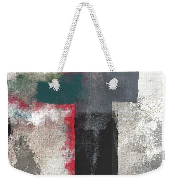 Expressionist Cross 4- Art By Linda Woods Weekender Tote Bag