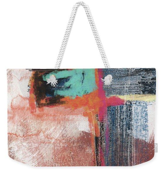 Expressionist Cross 5- Art By Linda Woods Weekender Tote Bag