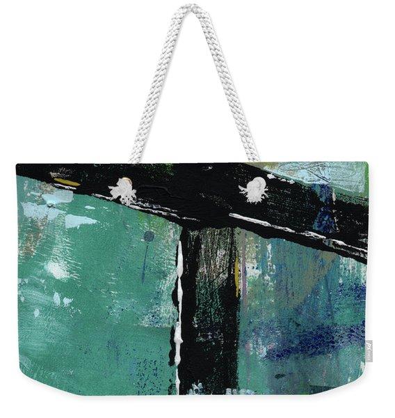 Expressionist Cross 8- Art By Linda Woods Weekender Tote Bag