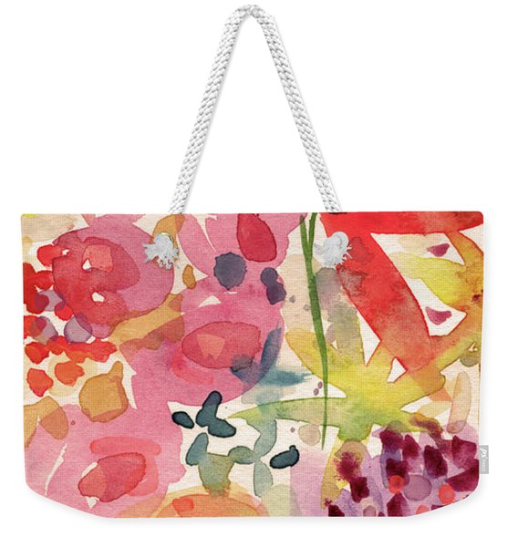 Expressionist Fall Garden- Art By Linda Woods Weekender Tote Bag