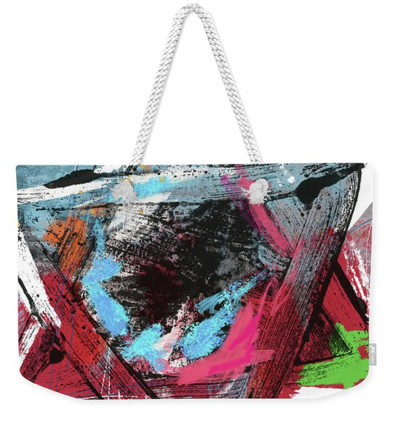 Expressionist Star Of David- Art By Linda Woods Weekender Tote Bag