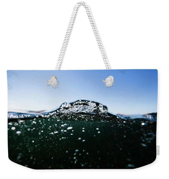 Expressive Water Weekender Tote Bag