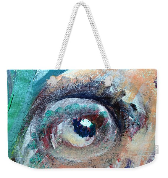 Eye Go Slow Weekender Tote Bag