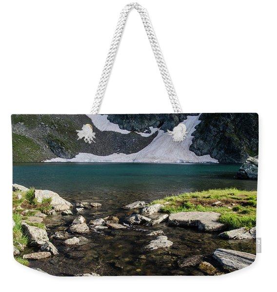 Eye Lake-rila Lakes Weekender Tote Bag