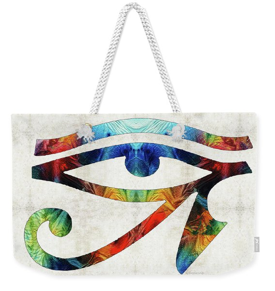 Eye Of Horus - By Sharon Cummings Weekender Tote Bag