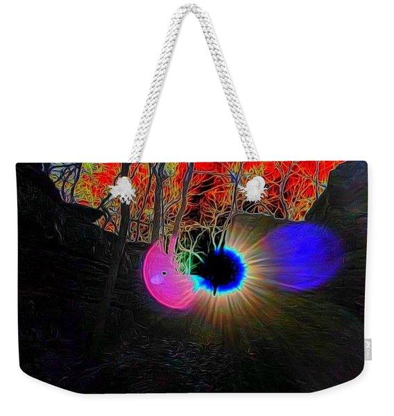 Eye Of Nature Weekender Tote Bag