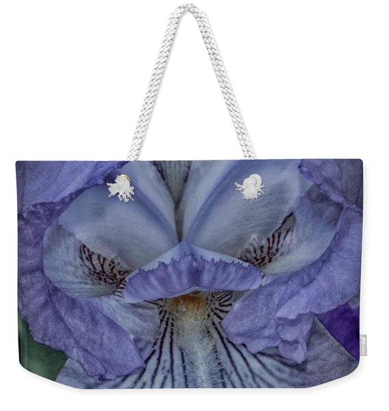 Eye Of The Iris Weekender Tote Bag