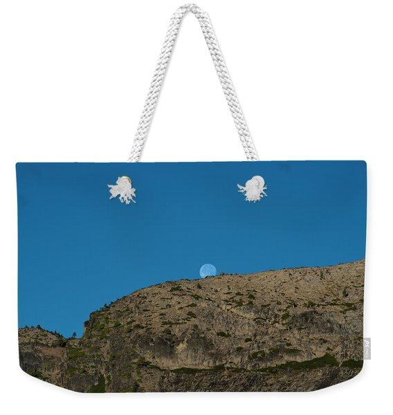 Eye Of The Mountain Weekender Tote Bag