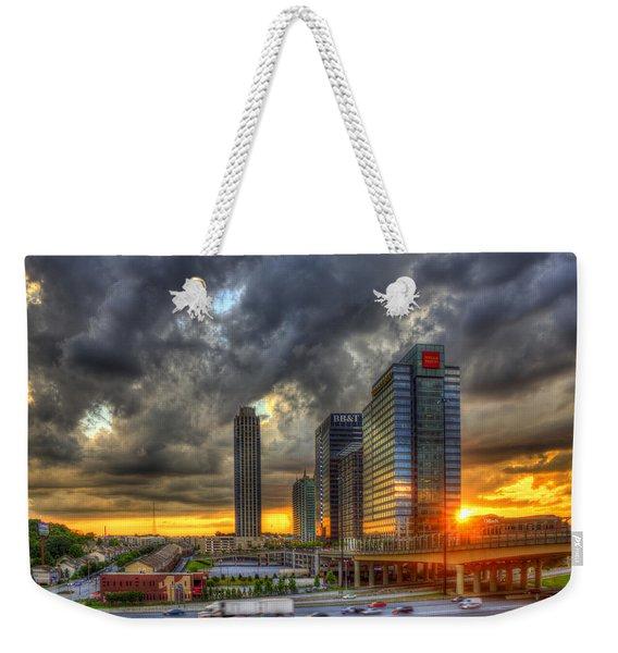 Eyecatcher Sunset Atlantic Station Weekender Tote Bag