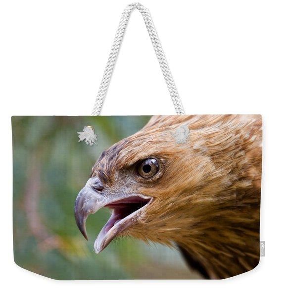 Eyes Of The Hunter Weekender Tote Bag