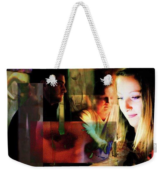 Eyes Wide Shut - Stanley Kubrick's Movie Interpretation Weekender Tote Bag