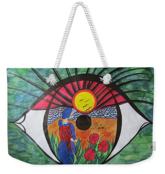Eyewitness Weekender Tote Bag