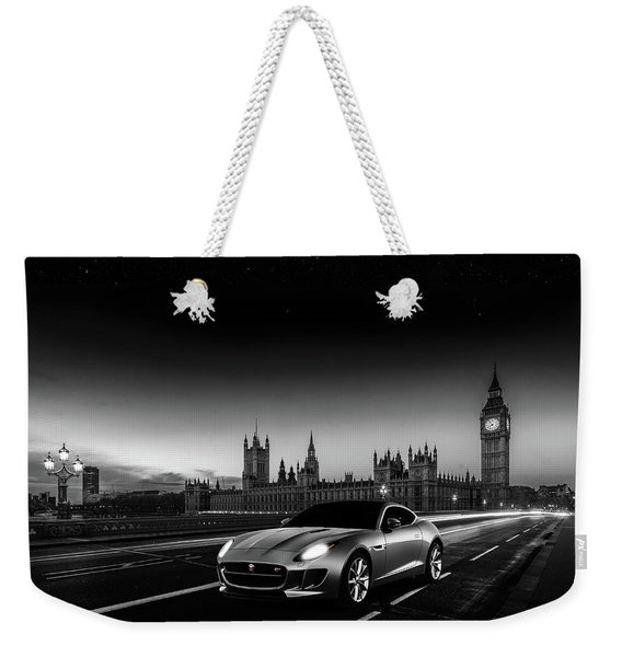 F-type In London Weekender Tote Bag