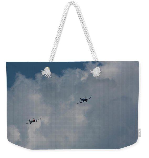 F4u-4 Corsair - Sawbones Airplanes 1 Weekender Tote Bag