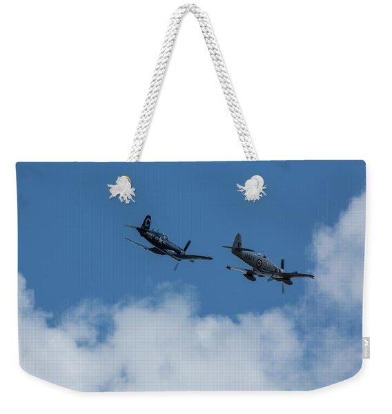 F4u-4 Corsair - Sawbones Airplanes 2 Weekender Tote Bag