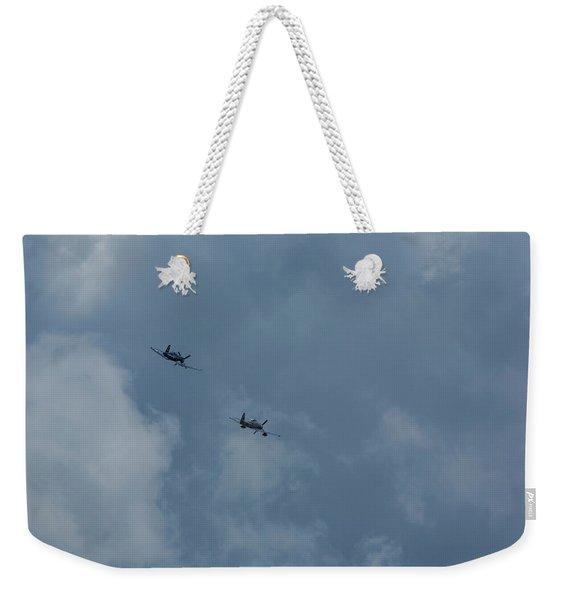 F4u-4 Corsair - Sawbones Airplanes 4 Weekender Tote Bag