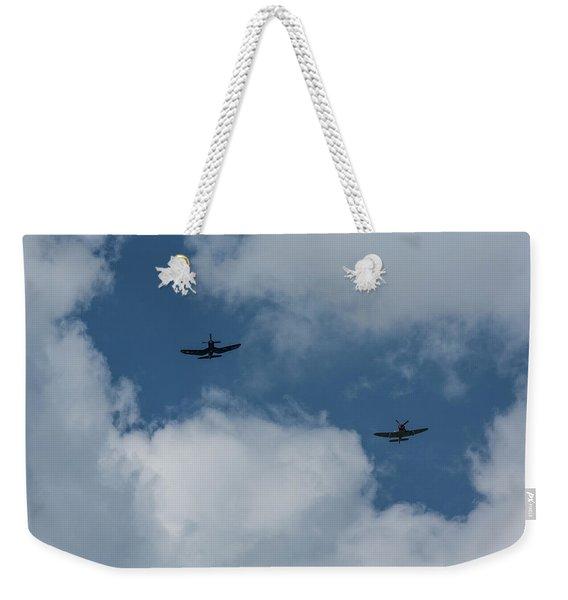 F4u-4 Corsair - Sawbones Airplanes 5 Weekender Tote Bag